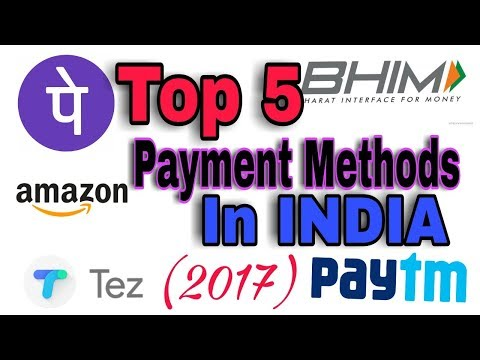 Top 5 cashless PAYMENT METHODS in india 2017 #digitalindia    By CMA Tech Inc.