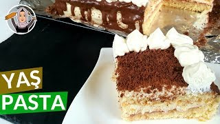 Kolay Yaş Pasta Tarifi | Pasta nasıl yapılır ? | Hatice Mazı ile Yemek Tarifleri