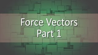 First half of the Lesson about vectors.