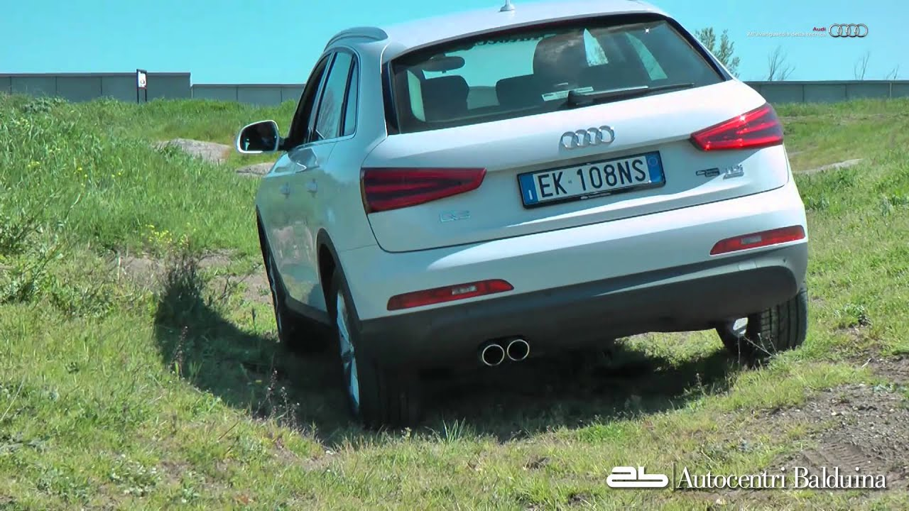 audi q3 test drive offroad experience youtube. Black Bedroom Furniture Sets. Home Design Ideas