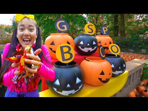 Halloween Science Game With Ellie | DIY Kids Costume Experiments