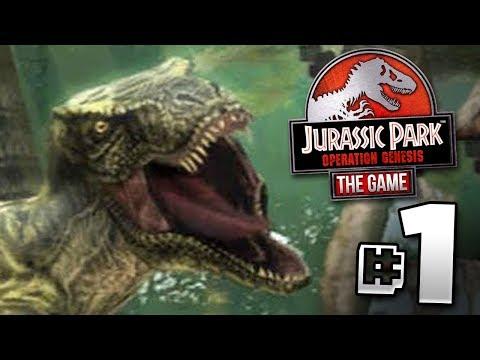 Jurassic World The Game Operation Genesis?!? - Jurassic Park Operation Genesis | Ep1
