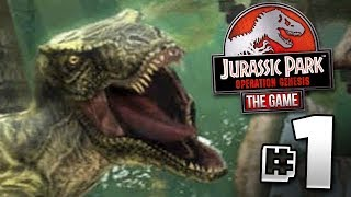 Jurassic World The Game Operation Genesis?!? - Jurassic Park Operation Genesis | Ep1