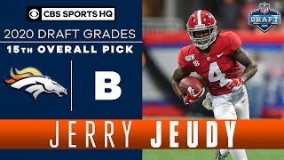 Will Jerry Jeudy turn into the Broncos FEATURE RECEIVER? | 2020 NFL Draft