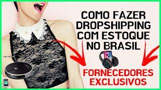 Como Fazer Dropshipping Com Estoque No Brasil - Aliexpress - Loja Shopify - Dropshiping Brasil
