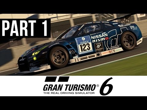 Gran Turismo 6 Gameplay Walkthrough Part 1 - My First Car (PS3 Career Mode GT6 Gameplay)