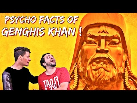 The PSYCHO Facts of Genghis Khan l Urdu Hindi l The Baigan Vines