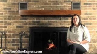 Installing the Pearl Mantels 60'' Shenandoah Distressed Medium Oak Fireplace Shelf