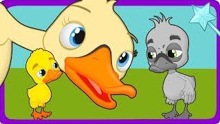 Download Bebek Buruk Rupa cerita anak anak animasi kartun