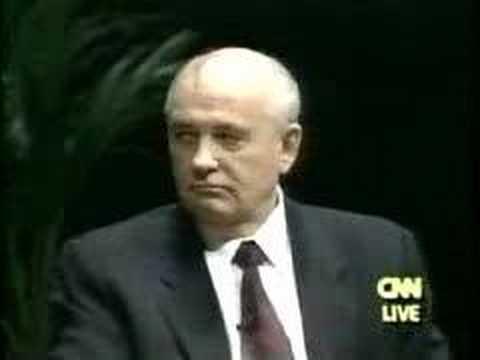 Mikhail S. Gorbachev, former President of the USSR