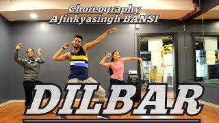 DILBAR | Satyameva Jayate | Nora Fatehi , Neha Kakkar | Dance | Choreography By Ajinkyasingh Bansi