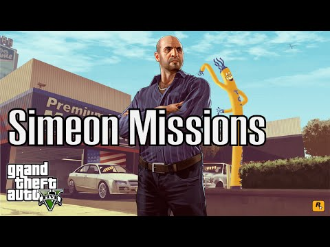 Simeon Missions - Grand Theft Auto Online (PS4)