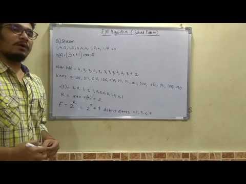Big Data Analytics Tutorial #16: FM Algorithm (Solved Problem)