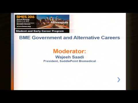 Biomedical Engineering Government and Alternative Careers