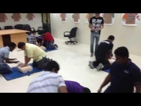 First aid training Dubai