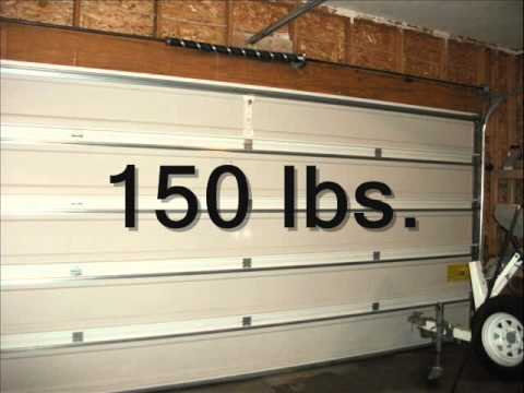 garage door opens halfwayGarage Door Fundamentals Torsion Spring Counterbalance  YouTube