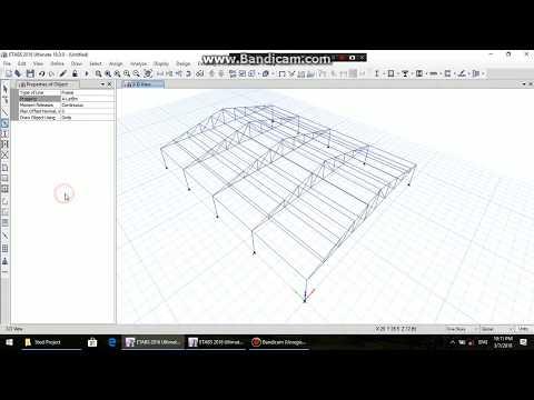 design steel structure in etabs