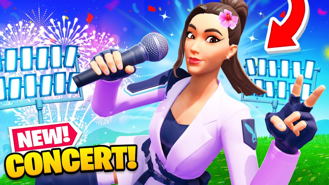 Download *NEW* Fortnite CONCERT Revealed! (First Look)