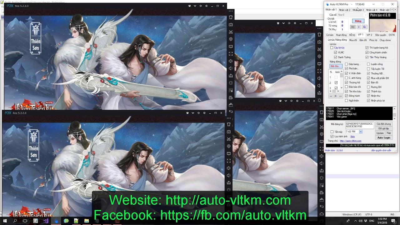 Hướng dẫn cày tiền VIP 1 – Auto VLTKM Pro 5.x
