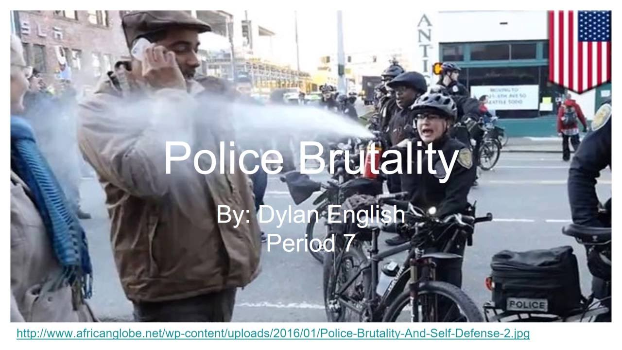 term papers on police brutality