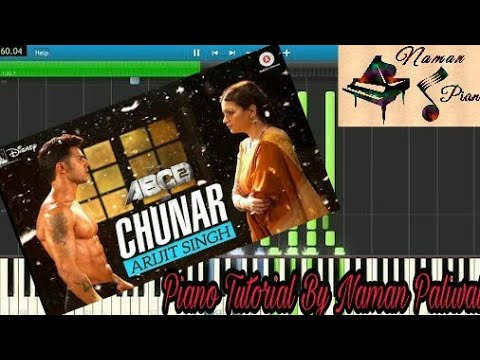 Chunar ABCD 2 Arijit Singh Piano(Tutorial+MIDI+Music Sheet)