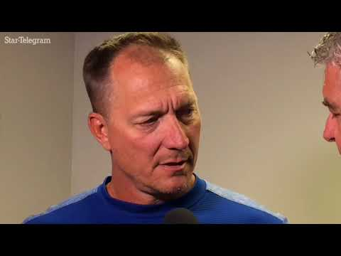 Rangers' Jeff Banister discusses flooding in Houston area