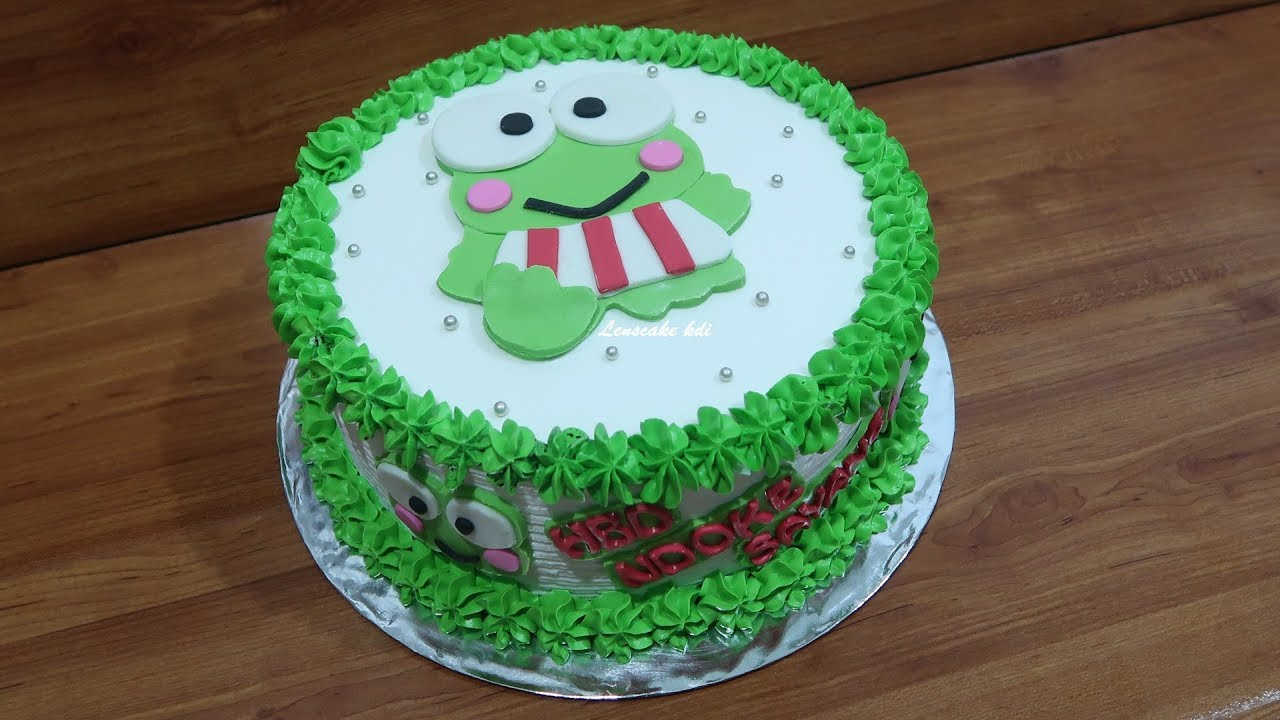 Birthday Cake For Boys Which Funny Is Keroppi