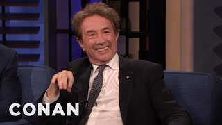 Martin Short Got High With George Harrison - CONAN on TBS