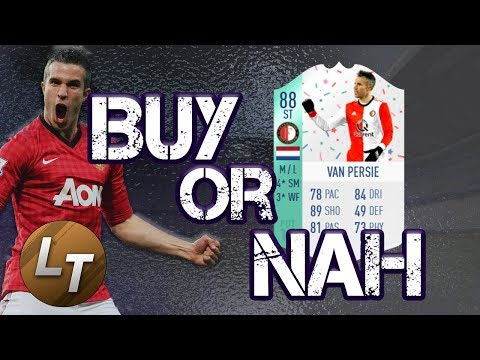 Birthday Robin Van Persie|  Buy or Nah  |  FIFA 18 Player Review Series