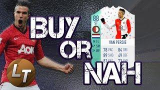 Birthday Robin Van Persie|  Buy or Nah  |  FIFA 18 Player Review Series