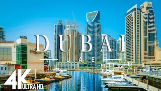 DUBAI 4K UHD  Música relajante junto con hermosos videos de la naturaleza  Video 4K Ultra HD