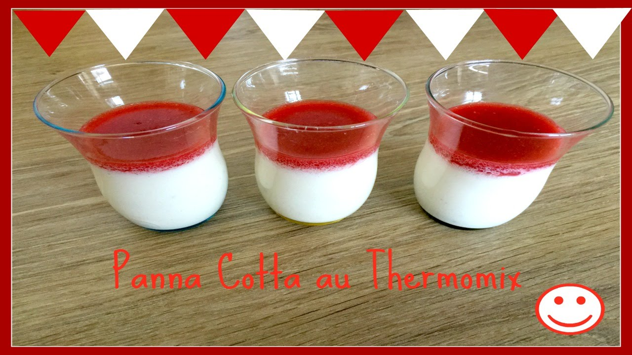 panna cotta thermomix tm31. Black Bedroom Furniture Sets. Home Design Ideas