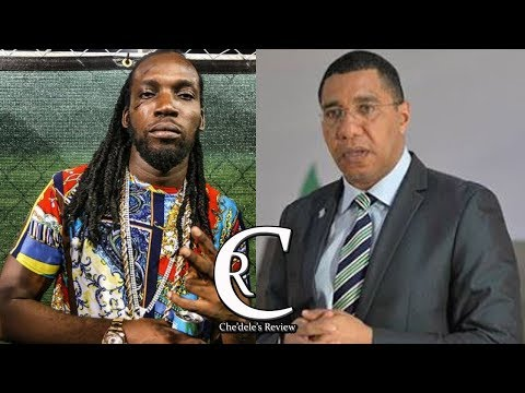 Mavado Gets Huge Endorsement From Prime Minister Andrew Holness 2017