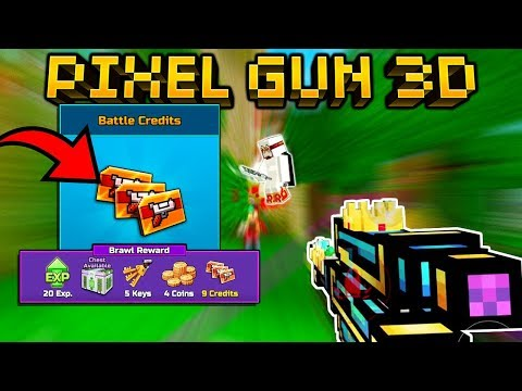 Pixel Gun 3D | F2P Easiest Way To Earn FREE Credits For Battle Pass!