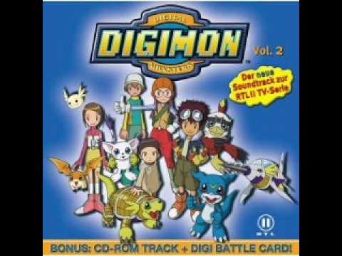 Digimon 02 Soundtrack -2- Wir drehn auf (German/Deutsch)