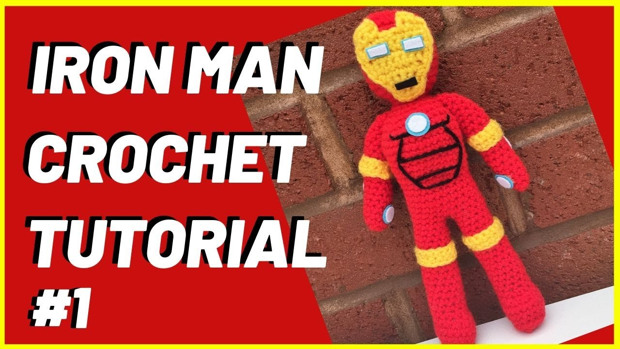 Ravelry: Iron Man Amigurumi pattern by Clare Heesh | 720x1280