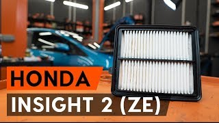 Montage HONDA INSIGHT (ZE_) Glühlampe Blinker: kostenloses Video
