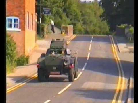 Daimler Ferret Scout Car Mk2/3 fv701 on the Road
