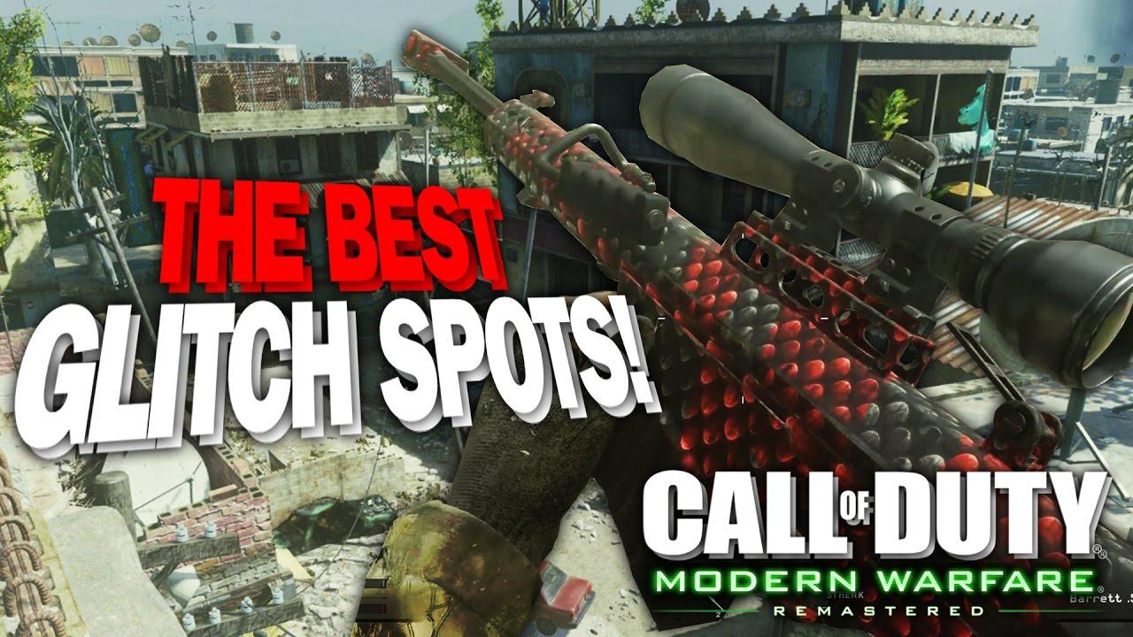 The Best Glitch Spots On Modern Warfare Remastered Youtube