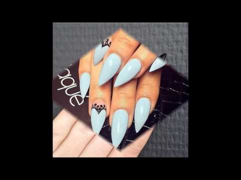 50 Easy Stiletto Nails Designs and Ideas!