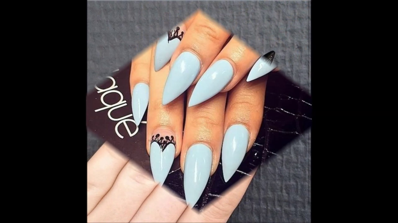 50 Easy Stiletto Nails Designs And Ideas Nail Designs 149 Youtube