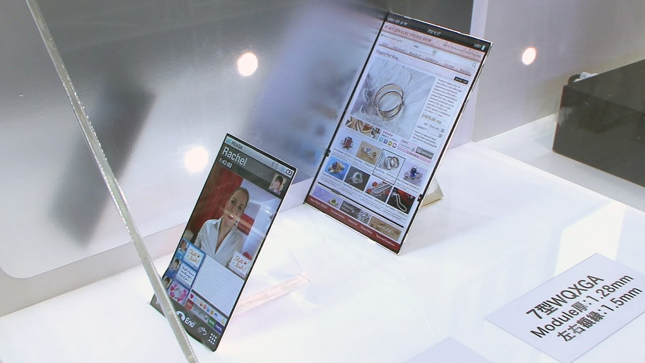 razor thin mobile displays from japan display  diginfo