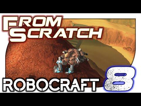 Robocraft From Scratch - 8. Sneak Attack!