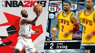 NBA 2k18 Official Cover Athlete Reveal + Free 95 OVR Diamond Kyrie Irving Scavenger Hunt!
