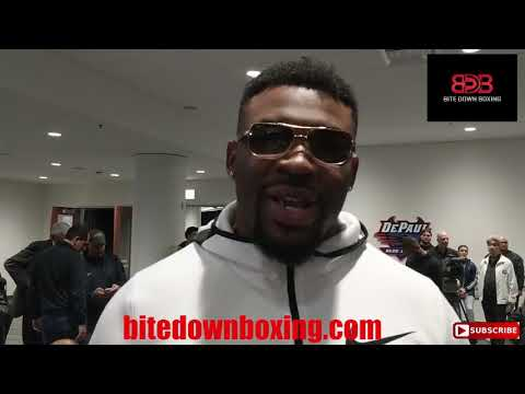 """Big Baby Miller """"no HW has taken less risks in 20 years than Deontay..."""""""