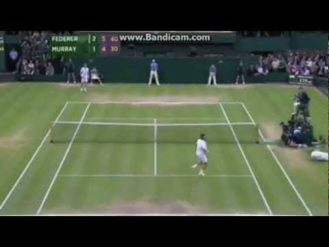 Wimbledon 2012 Mens Final, Andy Murray Vs Roger Federer