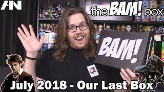 The BAM! Box - July 2018 (Our Last Box)