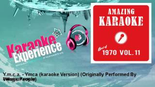Amazing Karaoke - Y.m.c.a. - Ymca (karaoke Version) - Originally Performed By Village People