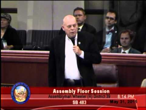 NV Assemblyman Jim Wheeler on the 78th session.