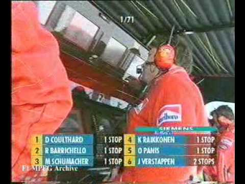 """Jean Todt - """"Rubens let Michael pass for the championchip..."""""""